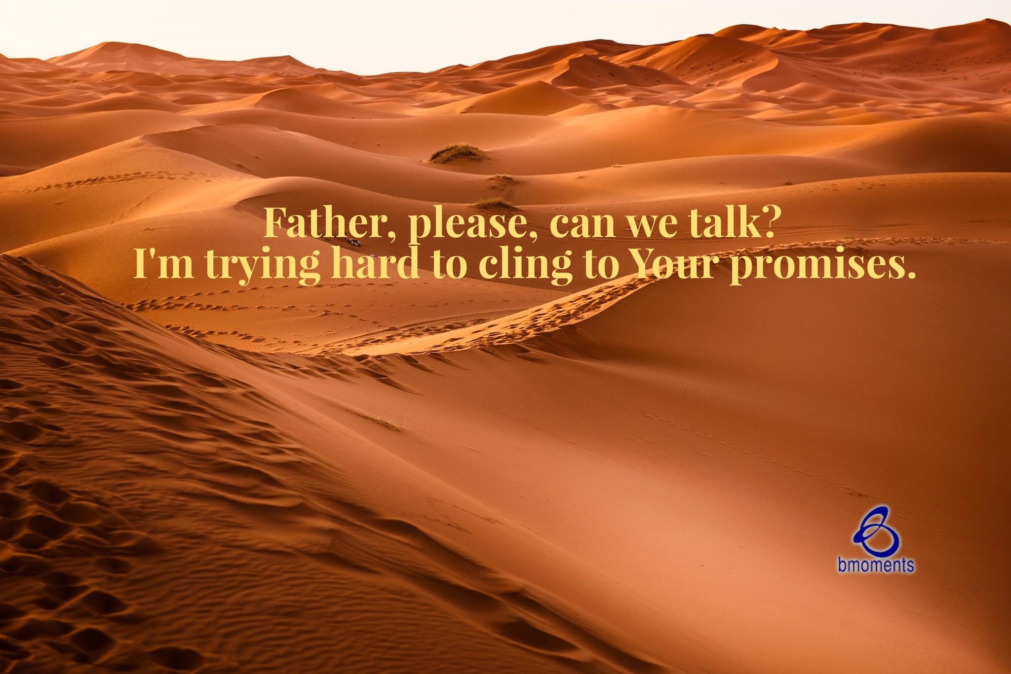 B Moments, Talk with God