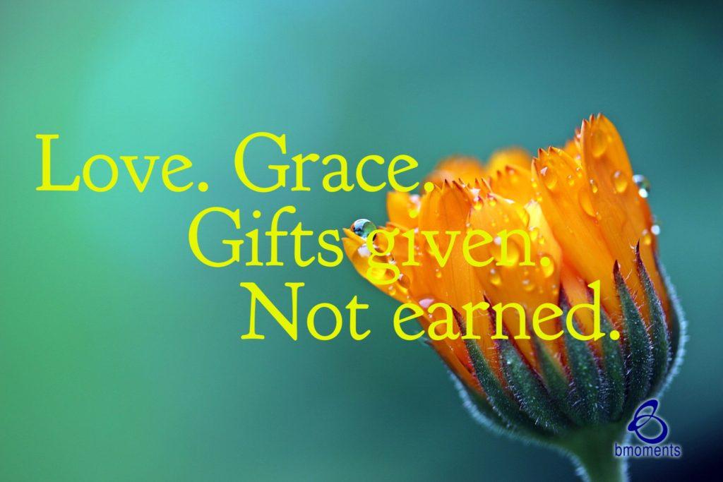 grace, b moments