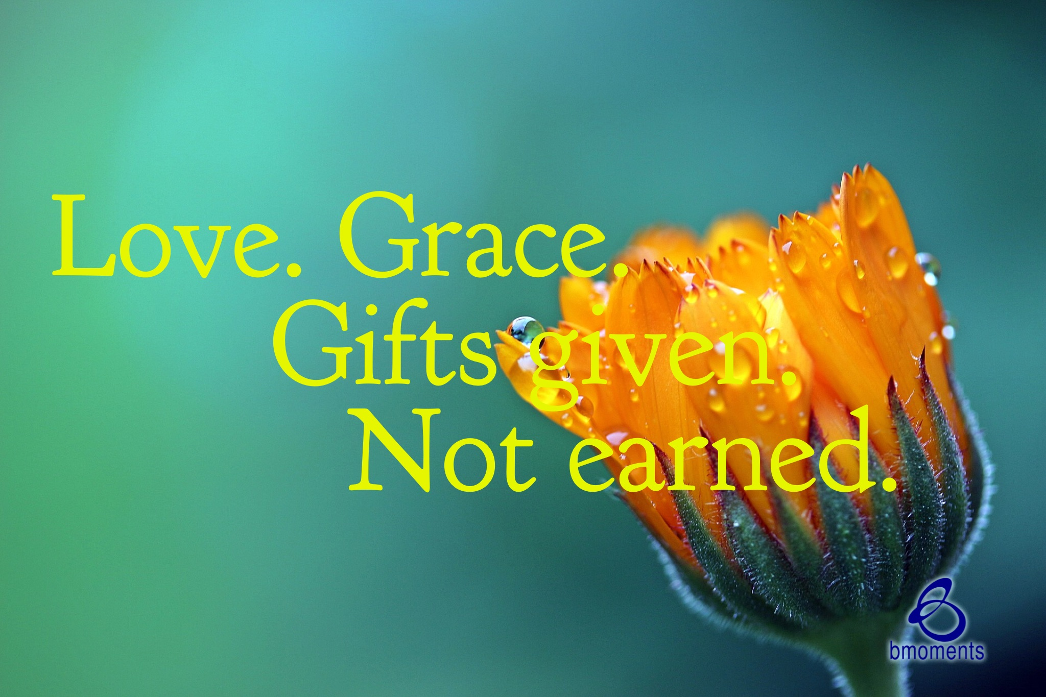 God's Grace Can't Be Earned