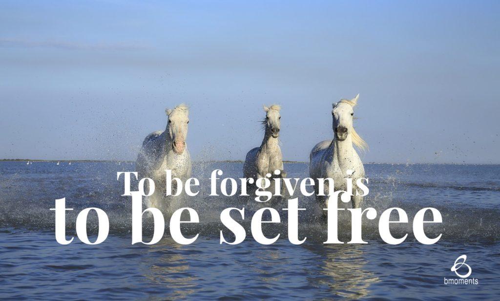 b moments, transformed, forgiven