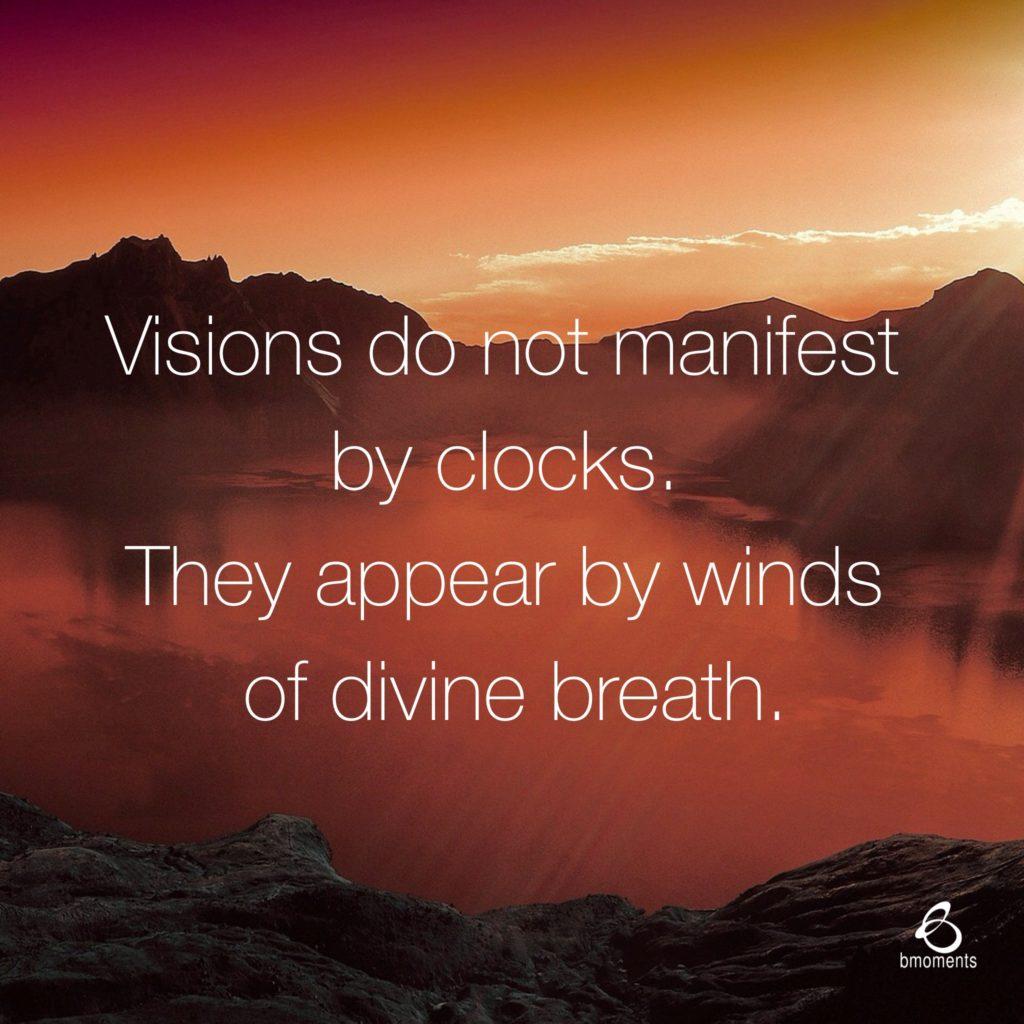 visions, b moments