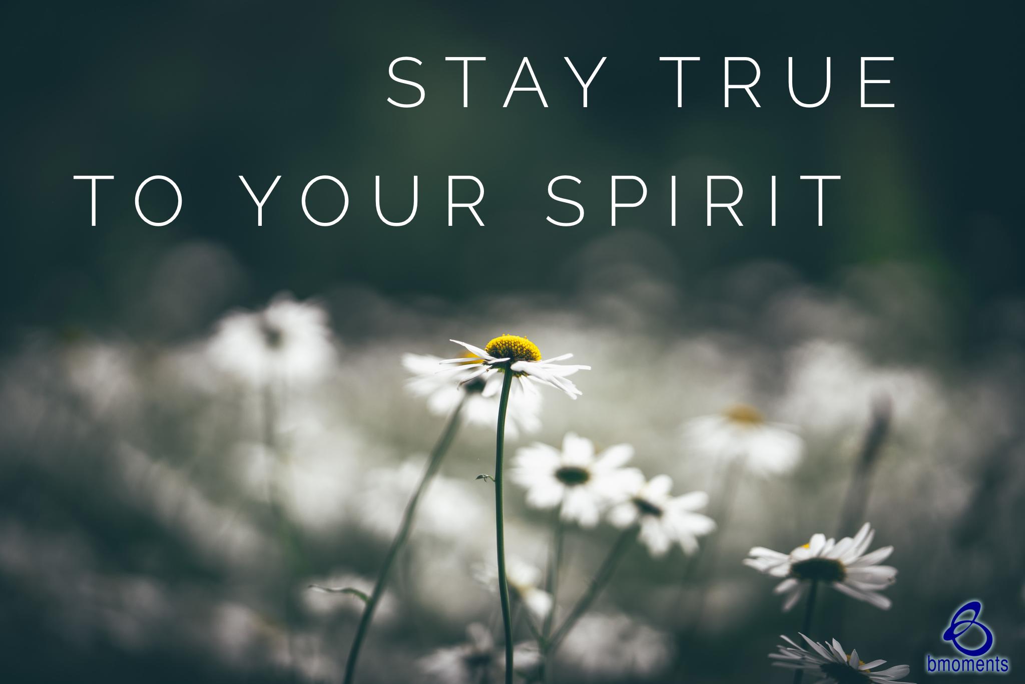 Respond in Spirit, Not in Ego