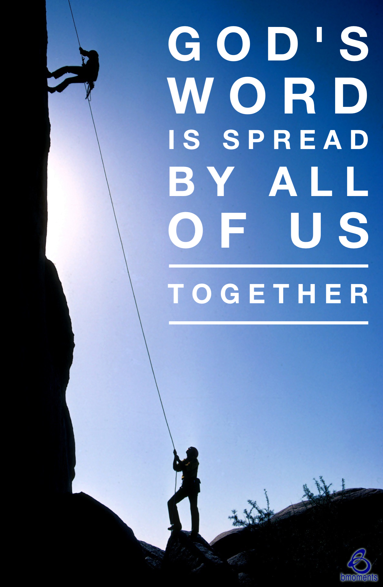 Together, We Can Spread God's Word