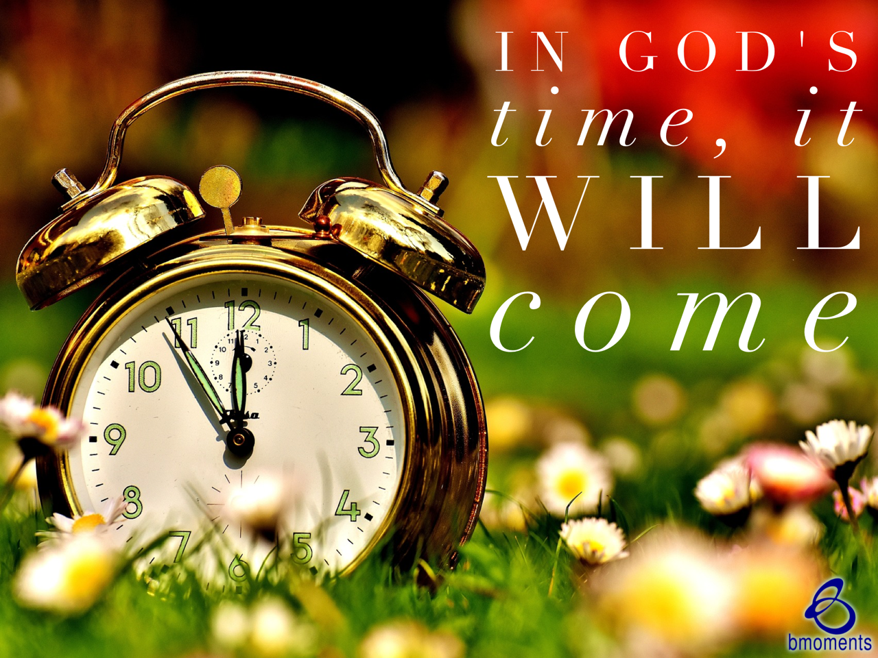 God's Timing Is Precise