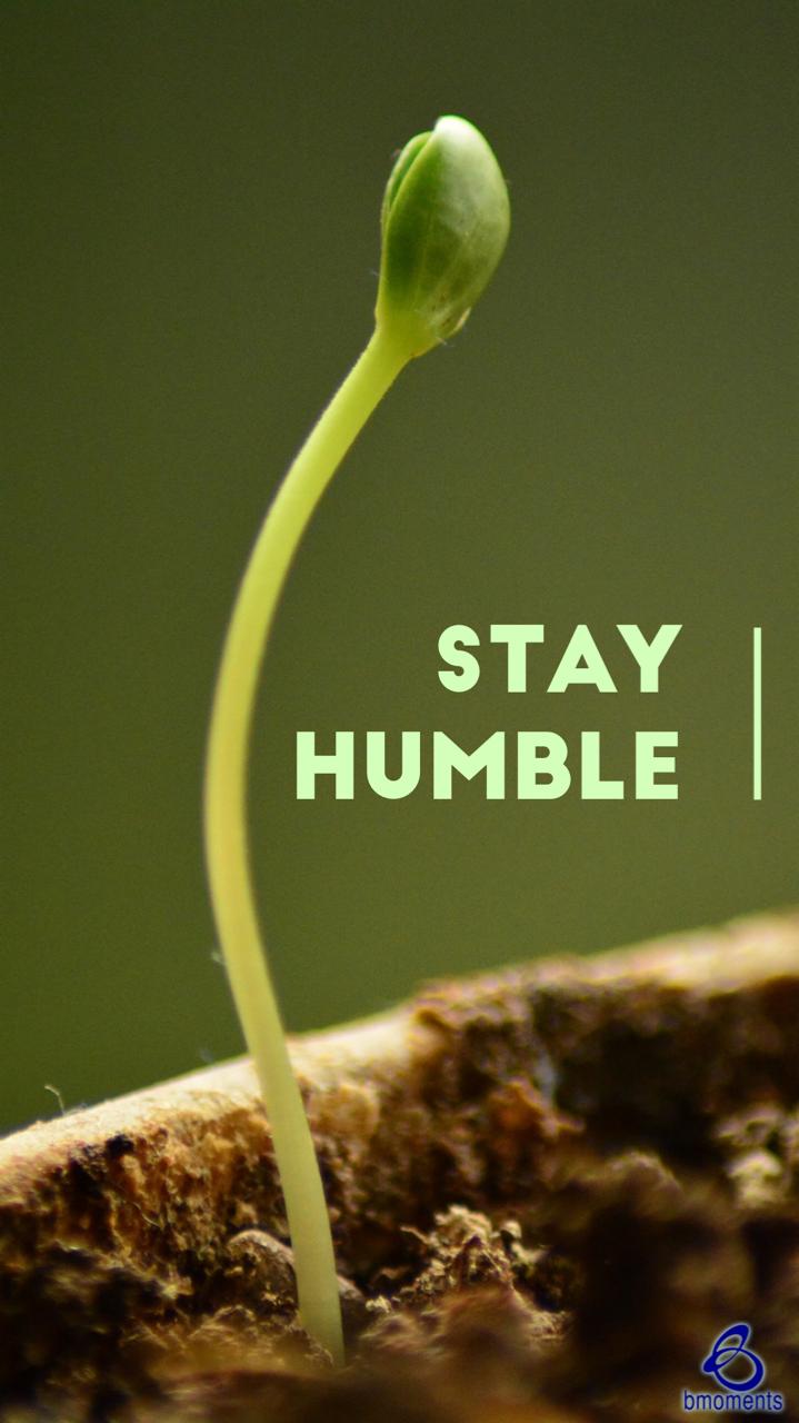 B Moments, humility