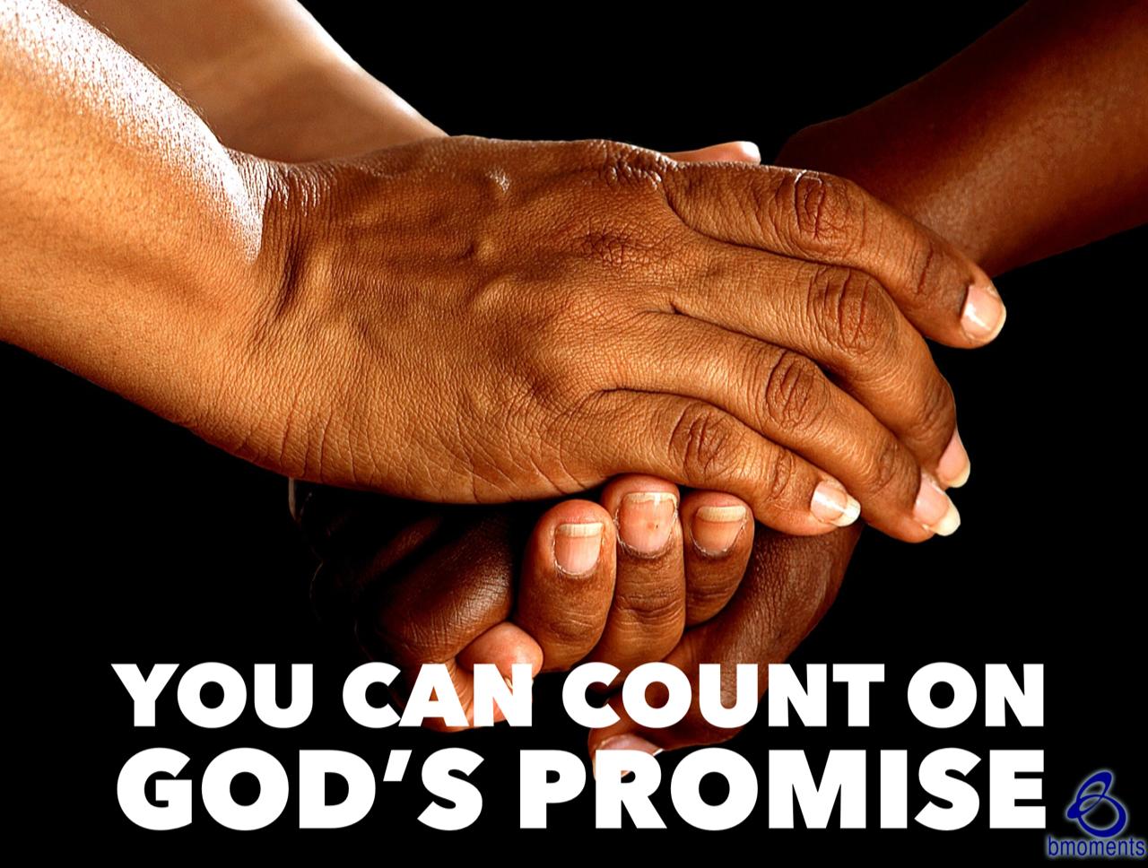God's Promise Is a Binding Oath