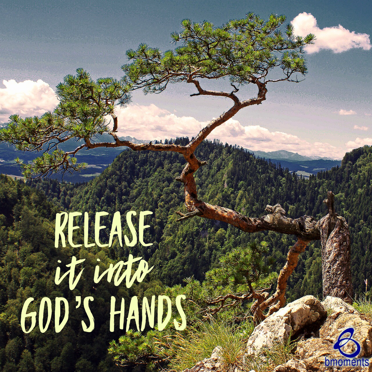 Release What Is Crooked Into God's Hands