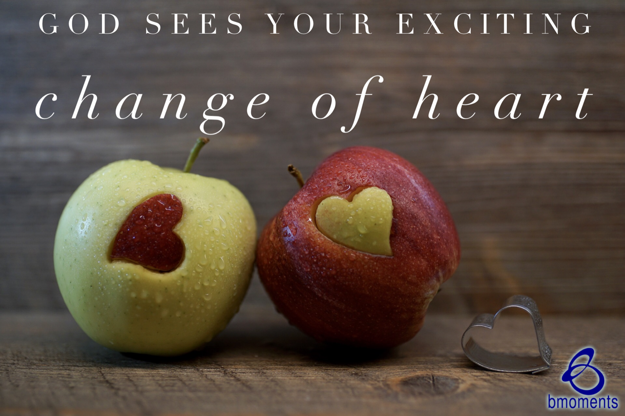 Be Encouraged: God Knows When Your Heart Changes