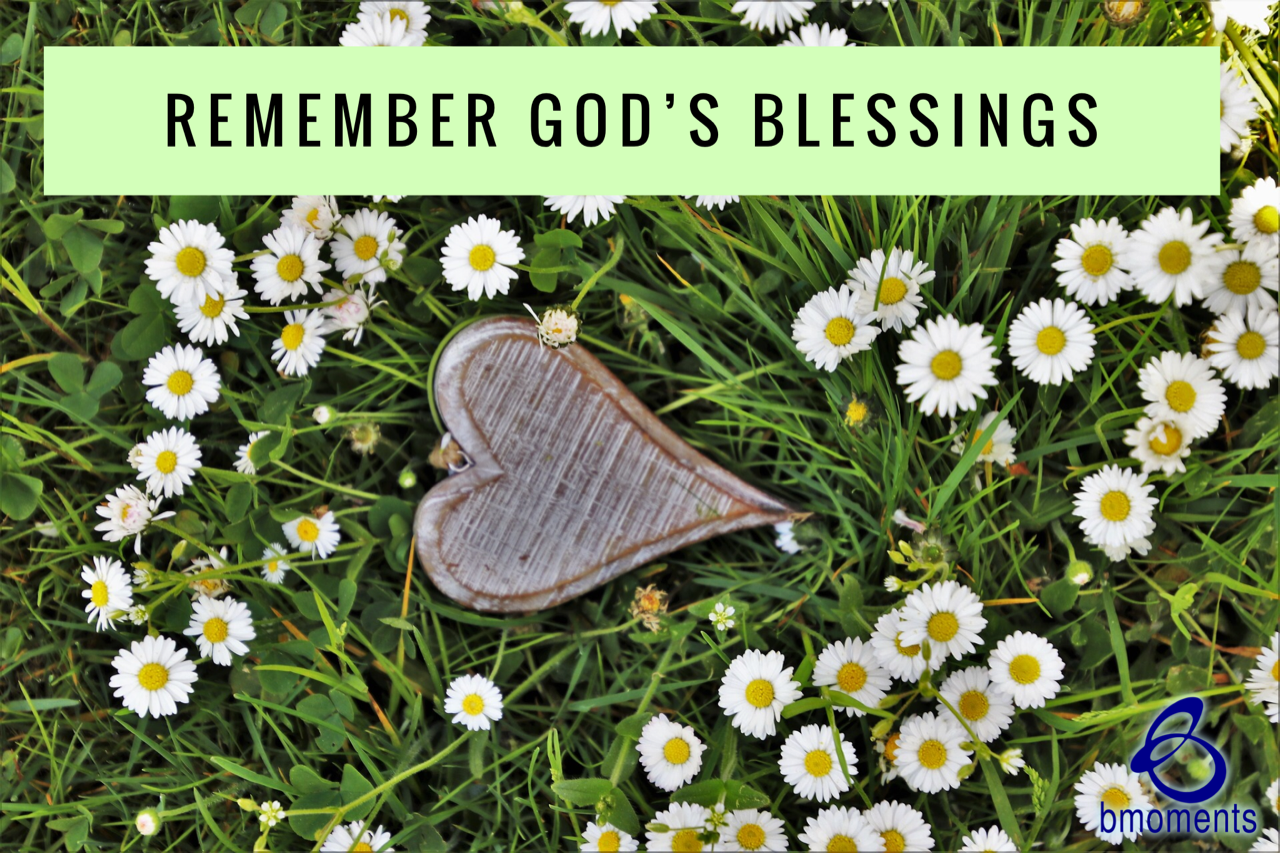 What Should You Do between God's Blessings?