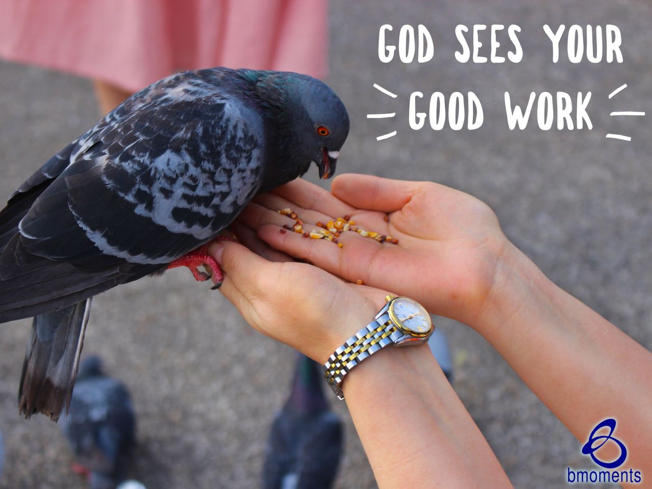 Your Good Works Are Accruing with God