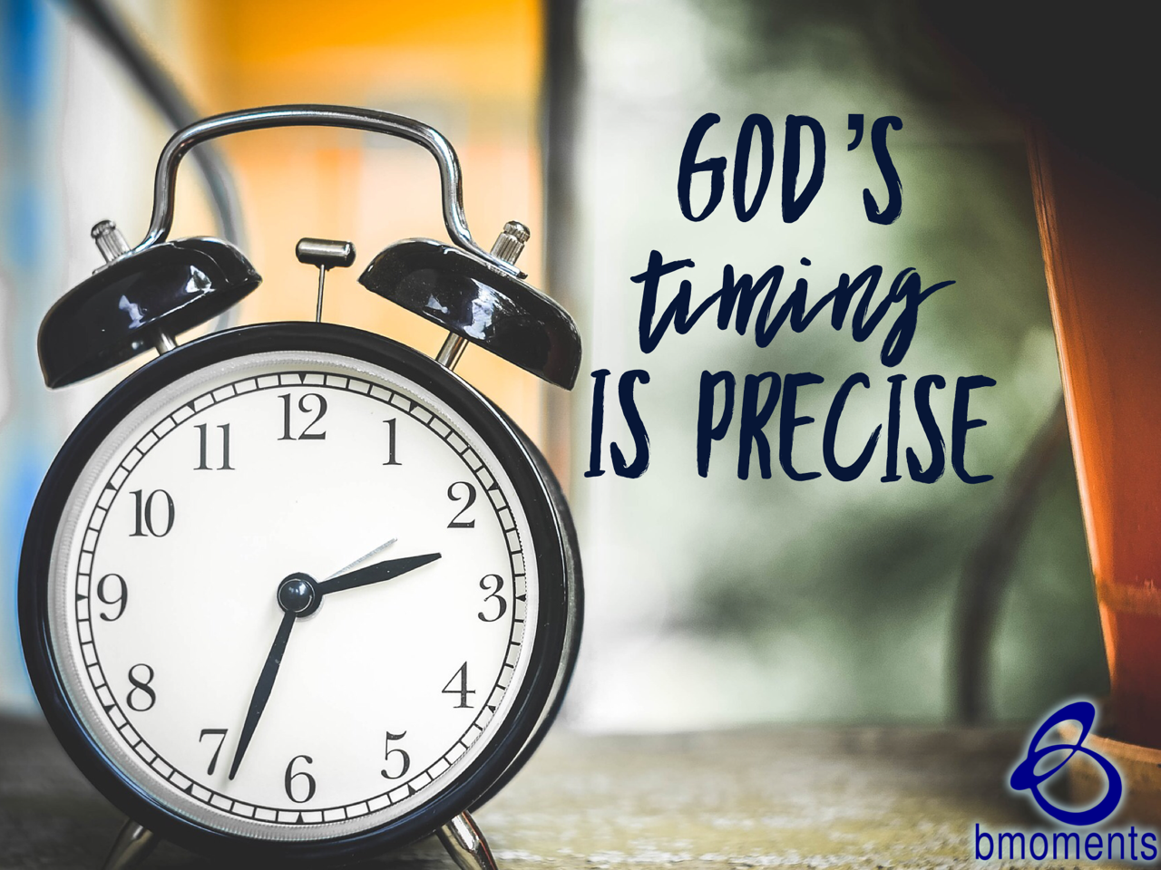 God Will Deliver You at the Perfect Moment