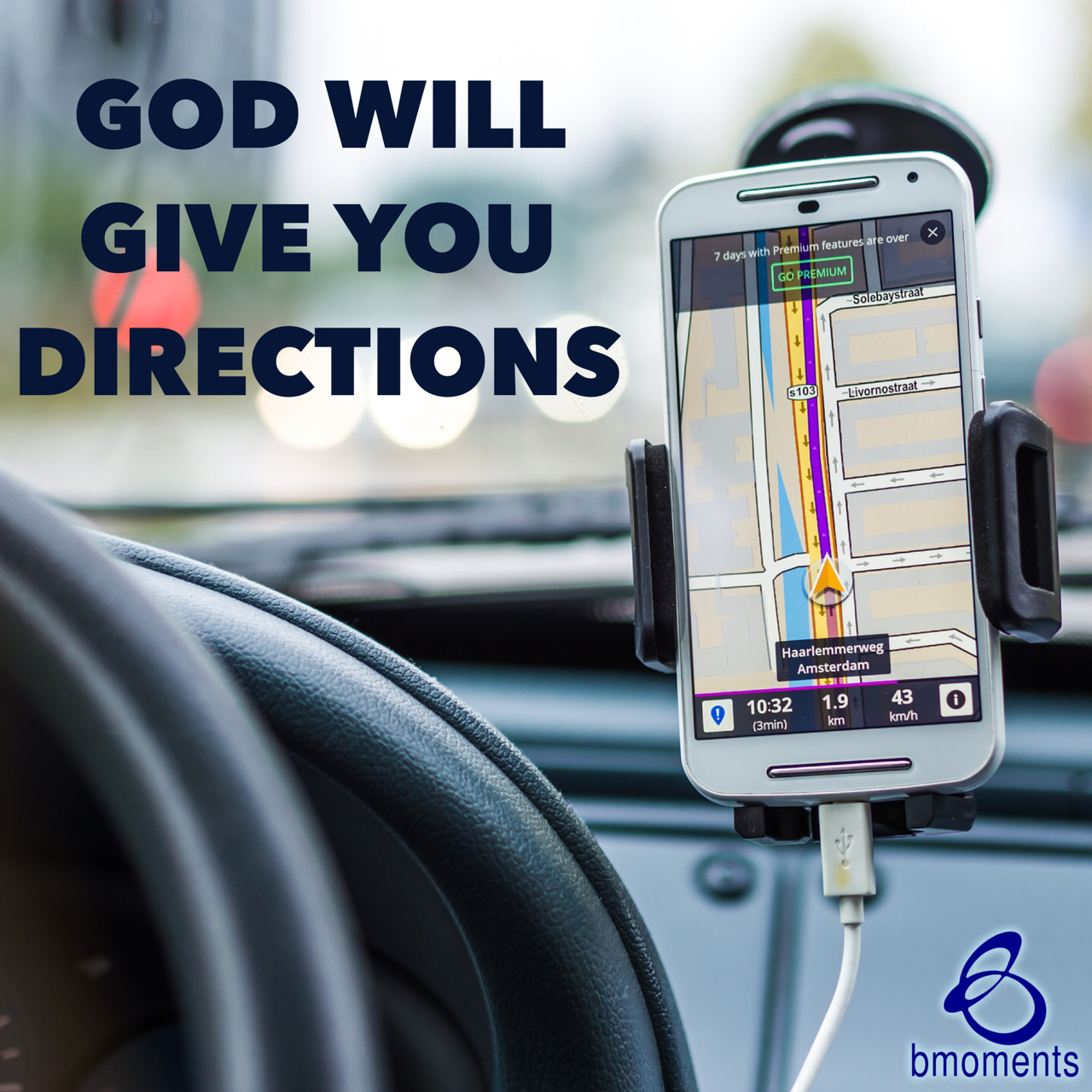 Turn on Your GPS for God