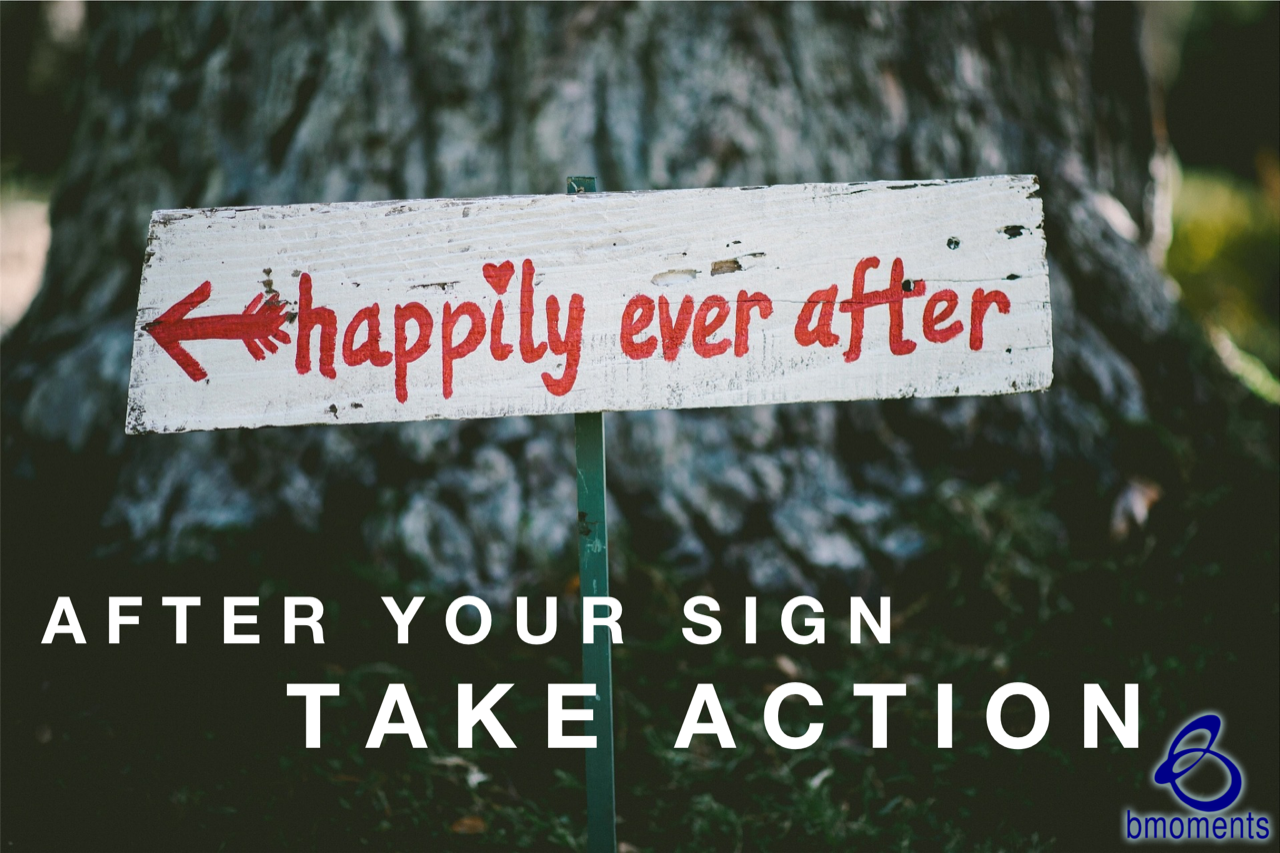 Ask for a Sign, Then Prepare to Take Action