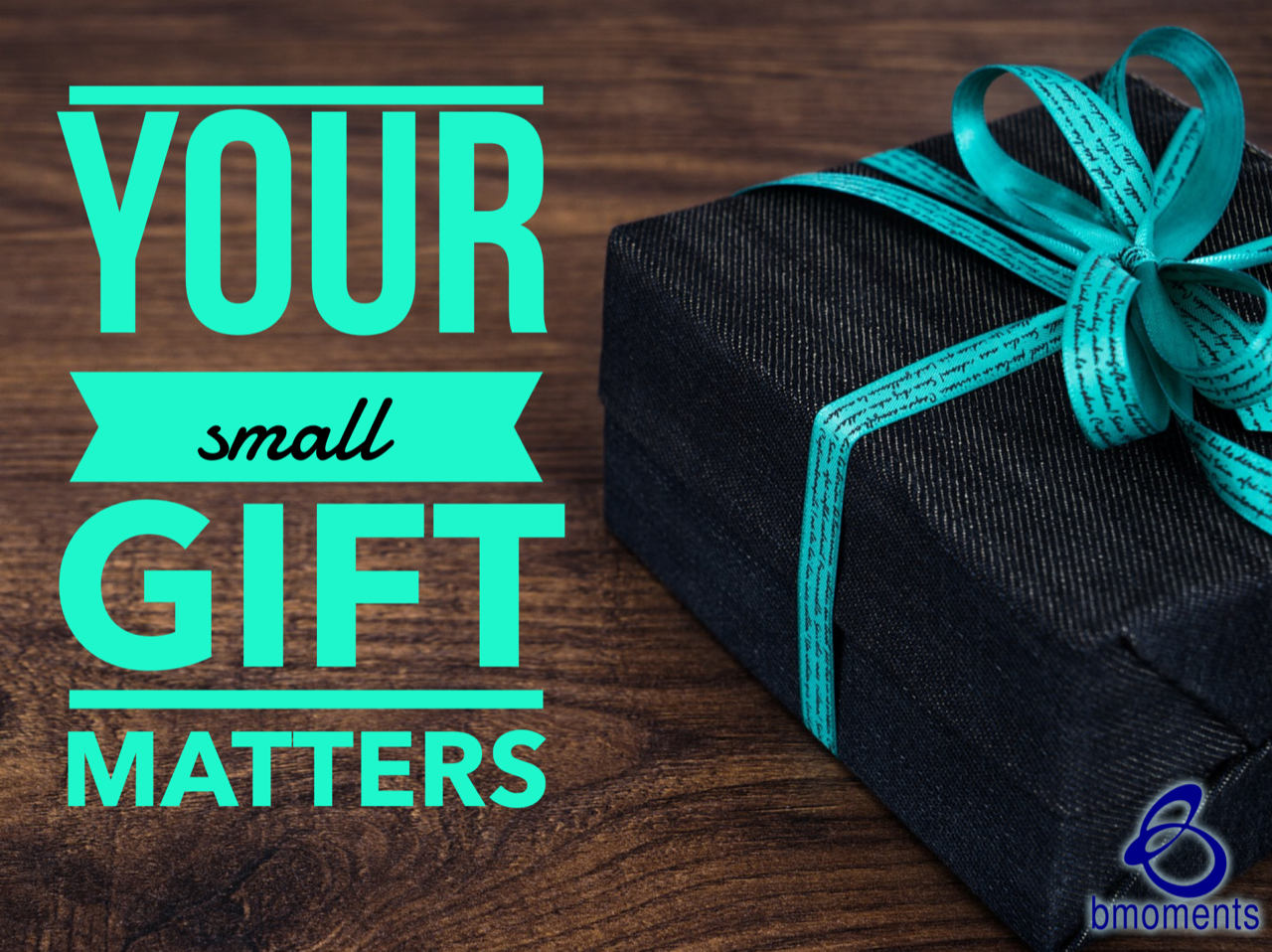 This Giving Tuesday Your Gift—Large or Small—Matters