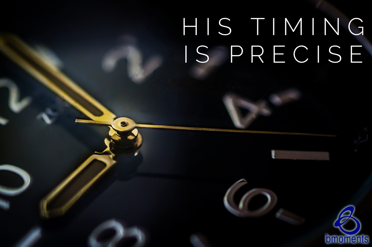 He Will Answer at the Perfect Time