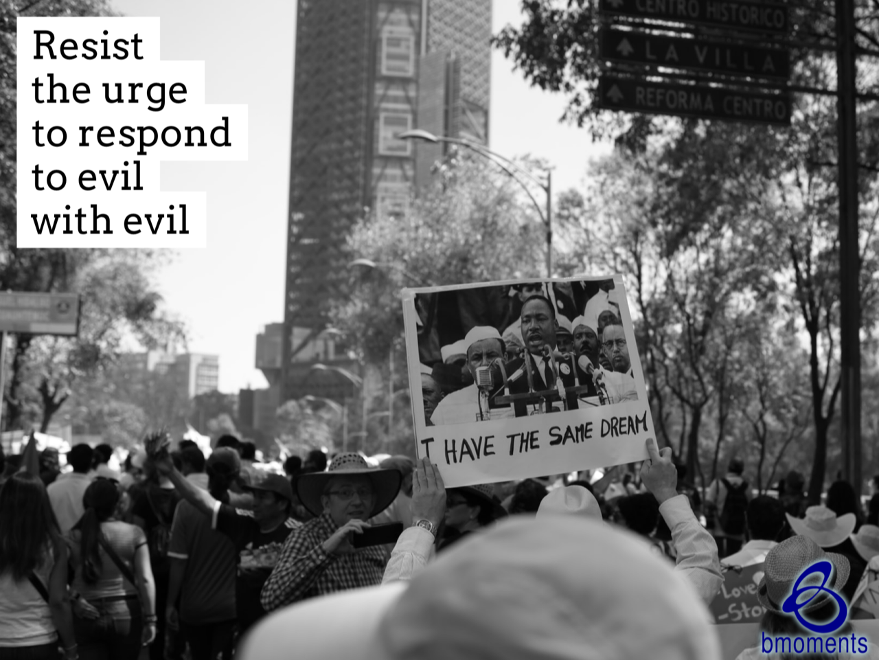Resist the Urge to Respond to Evil with Evil