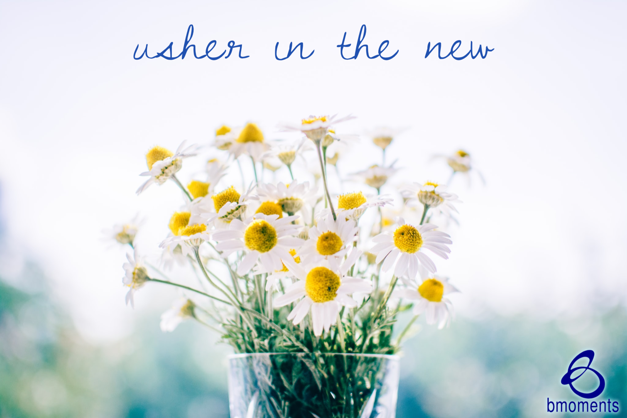 Let Go of the Past: Usher in the New