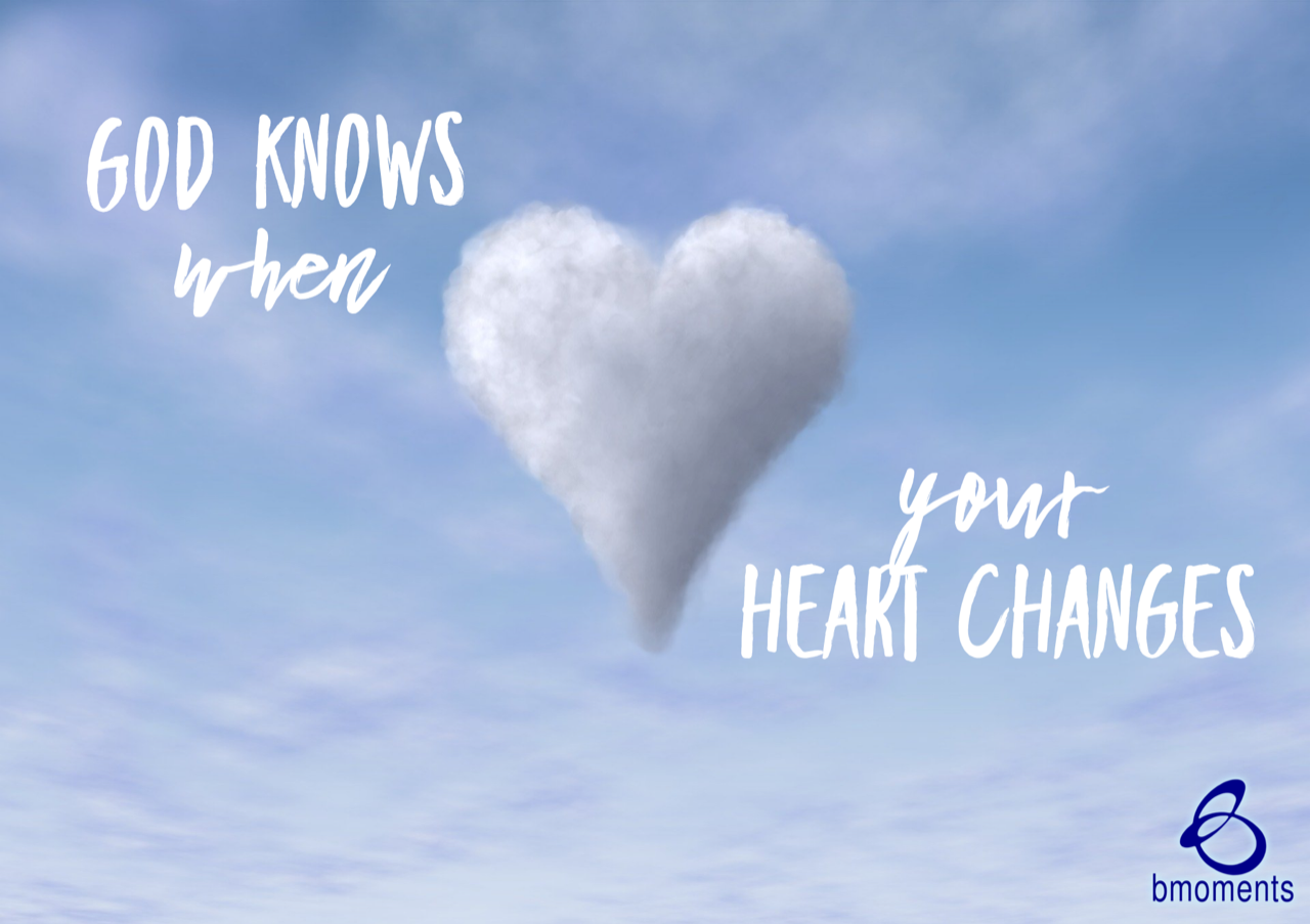Change Starts in Your Heart