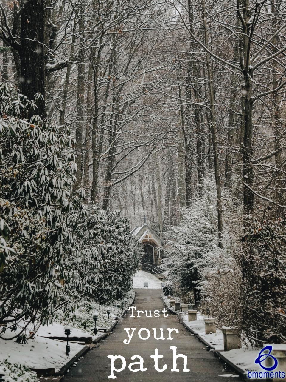 Trust God's Indirect Path