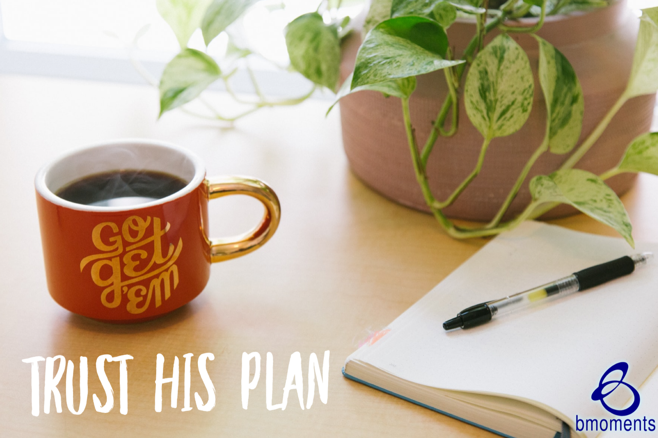 Trust His Plan–Even When It Hasn't Been Revealed