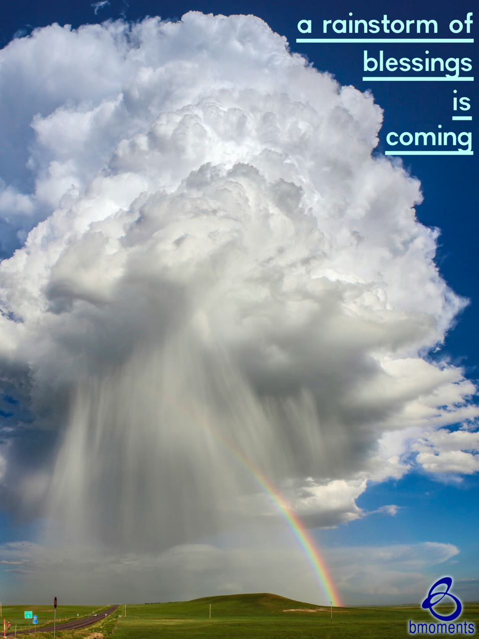 A Rainstorm of Blessings Awaits You