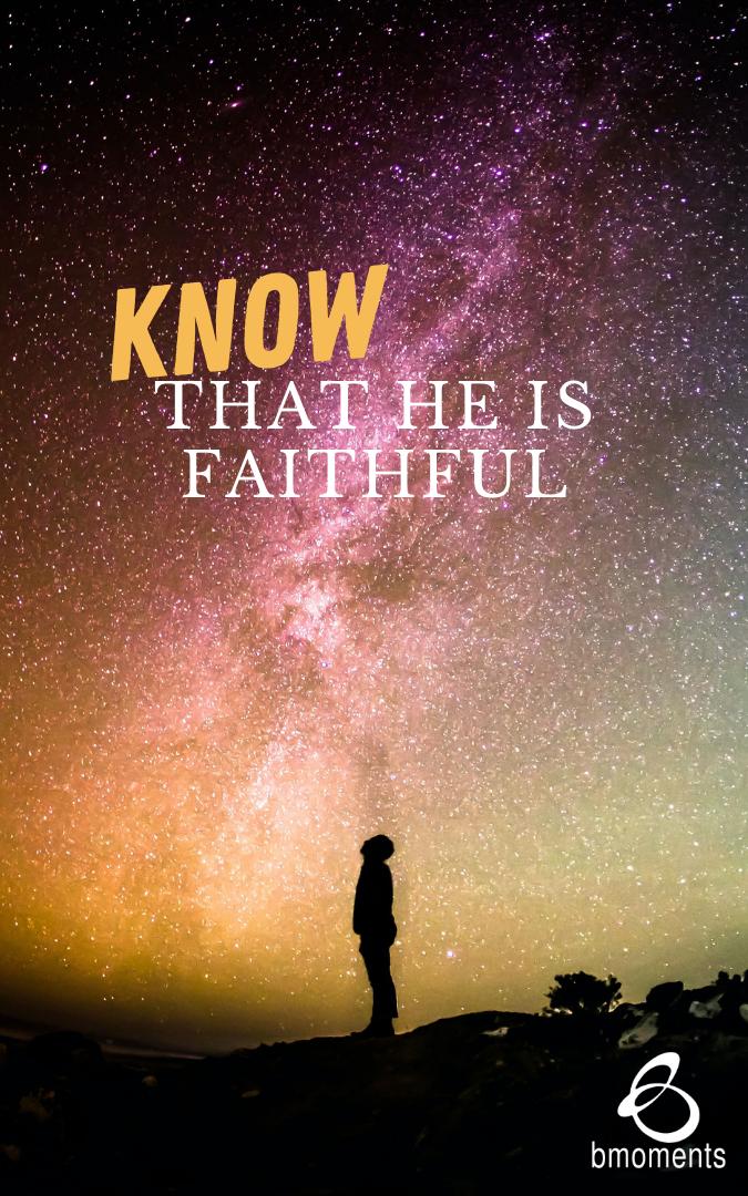 When You Are Faithless, God Is Faithful