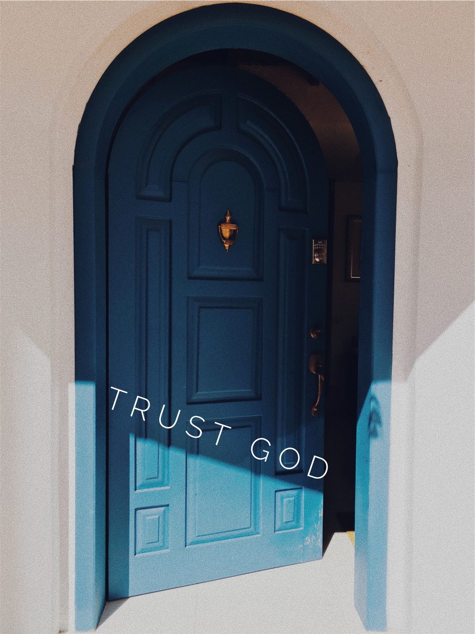 Trust God at the No's
