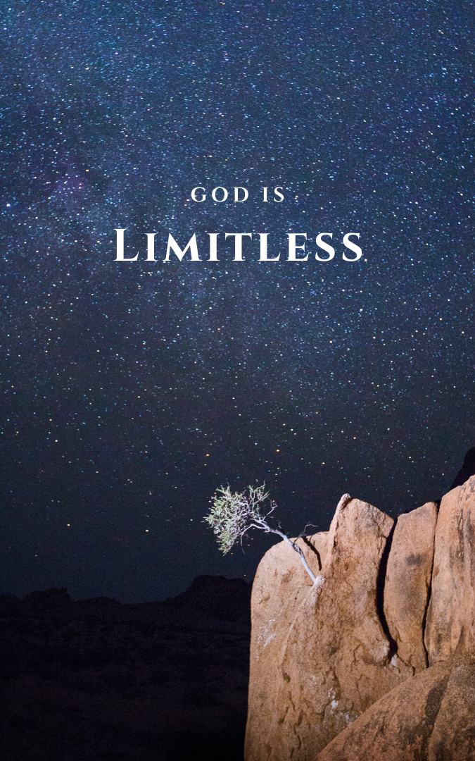 Limitations for You are Not Limitations for God